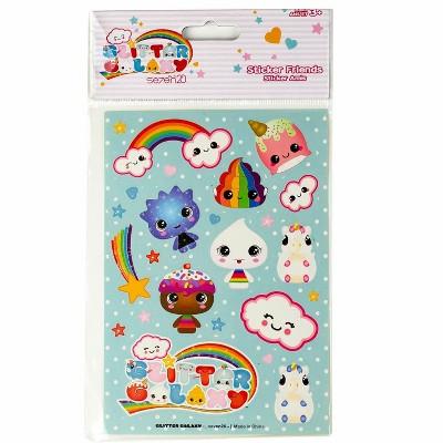 Seven20 Glitter Galaxy Sticker Friends Sheet Wave 1