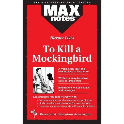 To Kill a Mockingbird (Maxnotes Literature Guides) - (MAXnotes) by  Anita Price Davis (Paperback) - image 1 of 1
