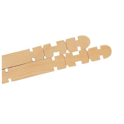Creativity Street Notched Action Stick for Building, 4-1/2 in, pk of 1000
