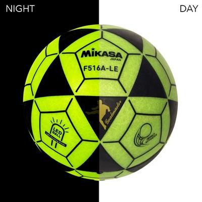 Mikasa LED Soccer Ball, Green