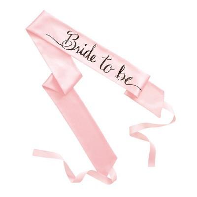 """""""Bride to be"""" Sash - Spritz™"""