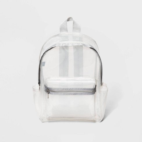 Clear Jelly Backpack - Wild Fable™ White - image 1 of 4