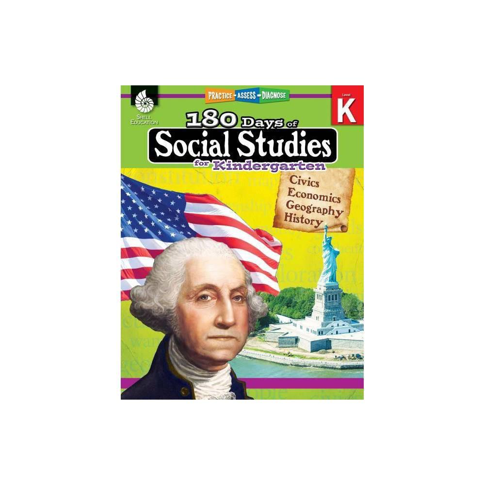 180 Days Of Social Studies For Kindergarten 180 Days Of Practice By Kathy Flynn Paperback