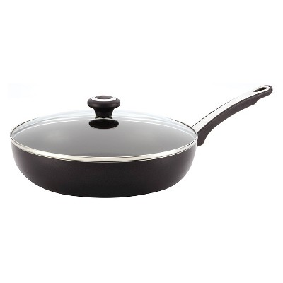 Farberware Non-Stick 12  Cover Deep Skillet