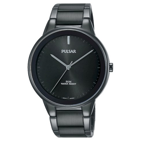 Men's Pulsar - Black Ion Finish with Black Dial and Bezel PG2045 - image 1 of 1