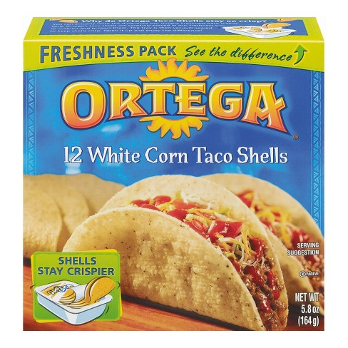 Ortega White Corn Taco Shells - 12ct - image 1 of 1