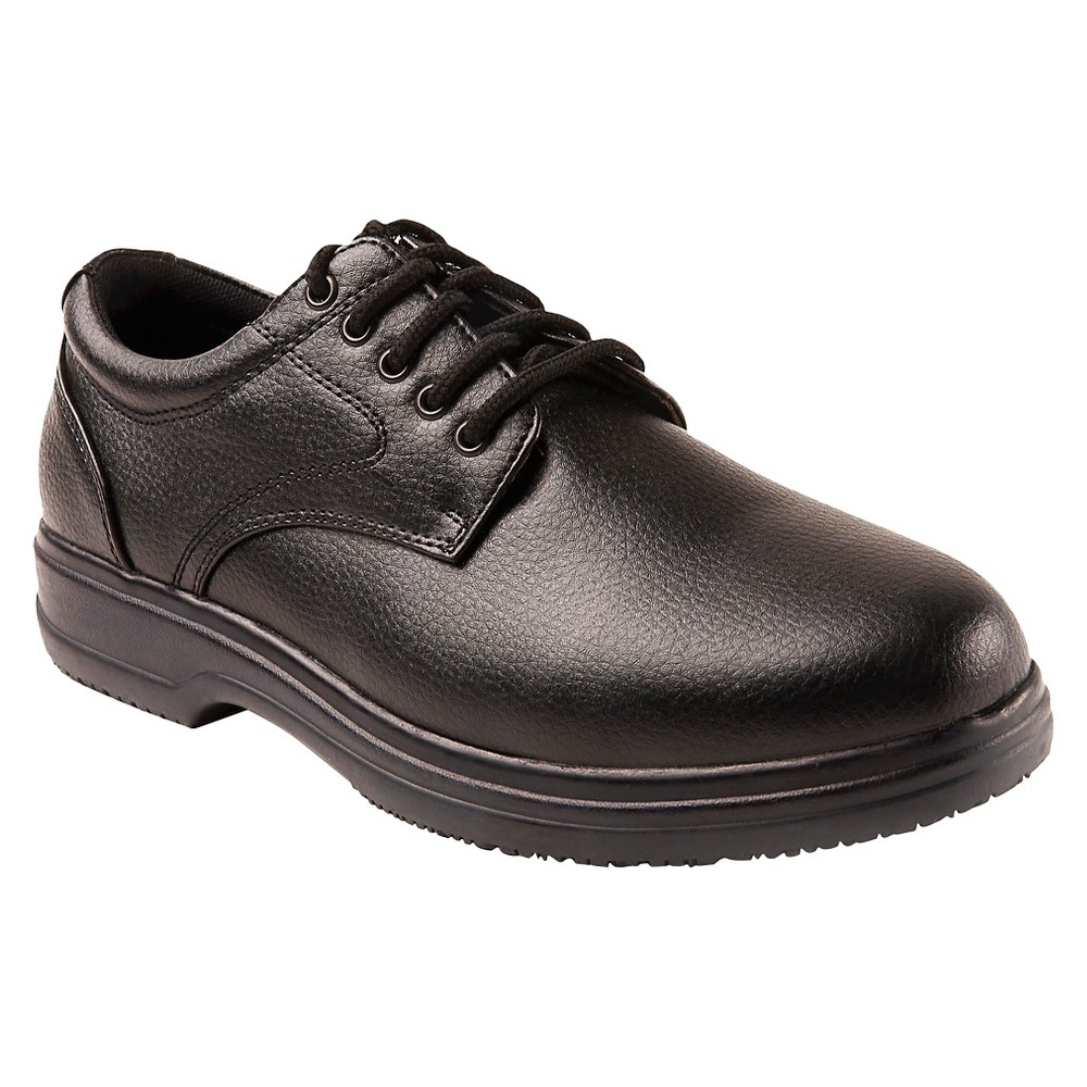 Men's Deer Stags Occupational Service Shoes - Black 12W, Size: 12 Wide