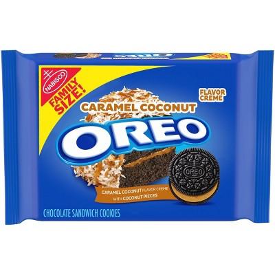Oreo Family Size Caramel Coconut Sandwich Cookies - 17oz