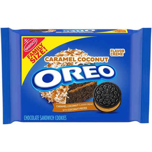 Oreo Family Size Caramel Coconut Sandwich Cookies - 17oz - image 1 of 4