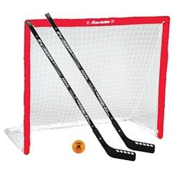 Franklin Sports NHL Goal  Stick & Ball Set - Red