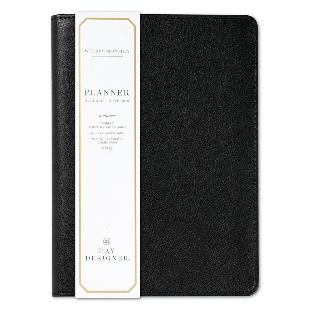 2018 - 2019 Bookbound Day Designer Monthly Weekly Planner- Black