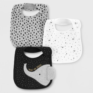 Baby 3pk Bibs - Just One You® made by carters One Size