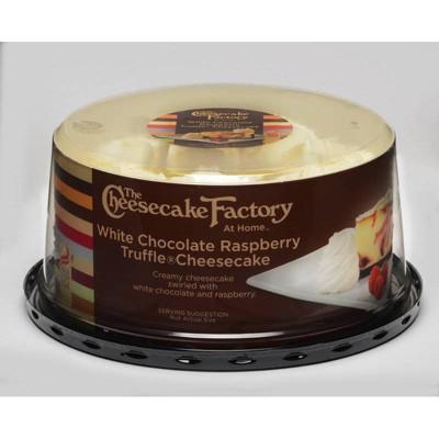 The Cheesecake Factory White Chocolate Raspberry Truffle Cheesecake