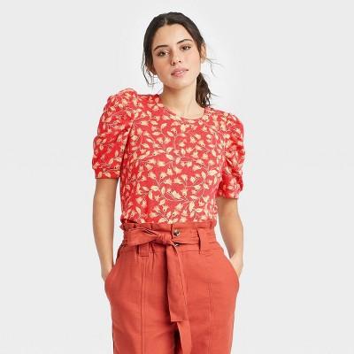 Women's Puff Elbow Sleeve Sweatshirt - Who What Wear™