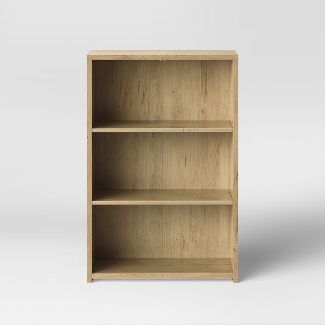 3 Shelf Bookcase Natural - Made By Design™