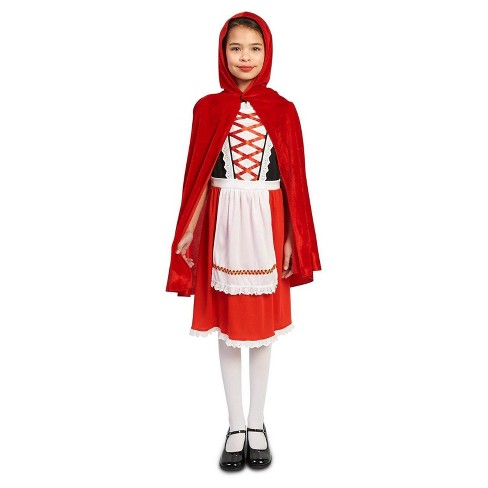 Girls' Red RidingHood Classic Costume - image 1 of 1