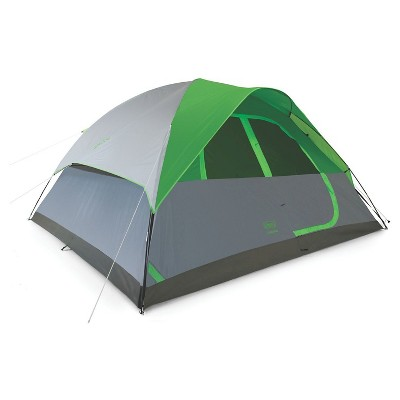 Coleman® Flatwoods II 8-Person Dome Tent - Gray/Green
