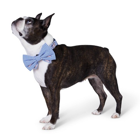 db1602d3d1fe Flag Whale and Gingham Collar Slide Pet Bow Tie - Navy - One Size - vineyard  vines® for Target