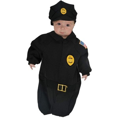Underwraps Police Officer Baby Bunting Costume