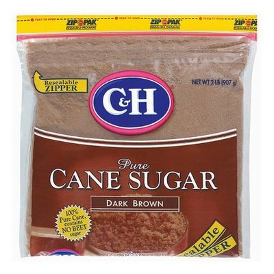 Sugar & Sweetener: C&H Pure Cane Sugar Dark Brown