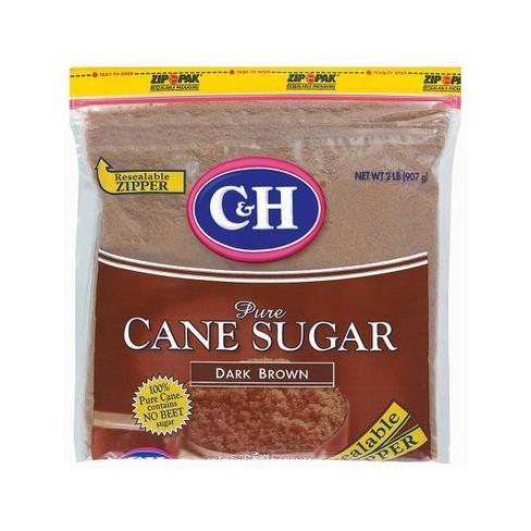 C&H Pure Dark Brown Cane Sugar - 2lbs - image 1 of 4
