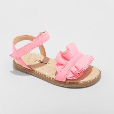 Toddler Girls' Camilla Slide Sandals - Cat & Jack™ Pink 5