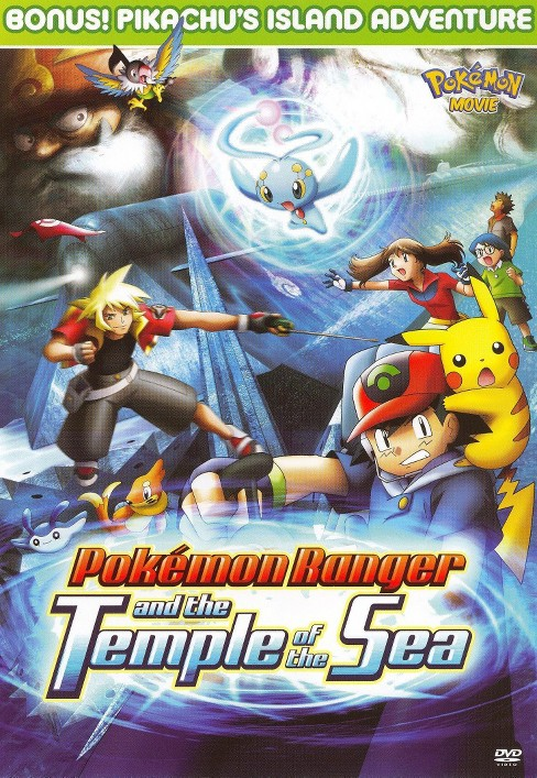 Pokemon, Vol. 9: Pokemon Ranger and the Temple of the Sea (dvd_video) - image 1 of 1
