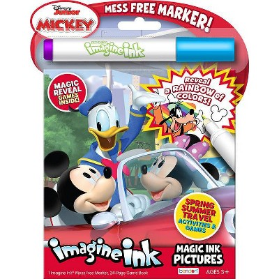 DISNEY JR MMCH IMAGINE INK BOOK (Hardcover)