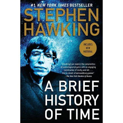 A Brief History of Time - 10th Edition by  Stephen Hawking (Paperback)