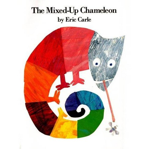 The Mixed-Up Chameleon - (World of Eric Carle) 2 Edition by  Eric Carle (Hardcover) - image 1 of 1