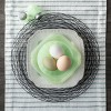 Milk Glass Pedestal Dessert Bowl Green - Hearth & Hand™ with Magnolia - image 2 of 2