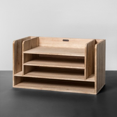 Wooden Desk Organizer - Hearth & Hand™ with Magnolia