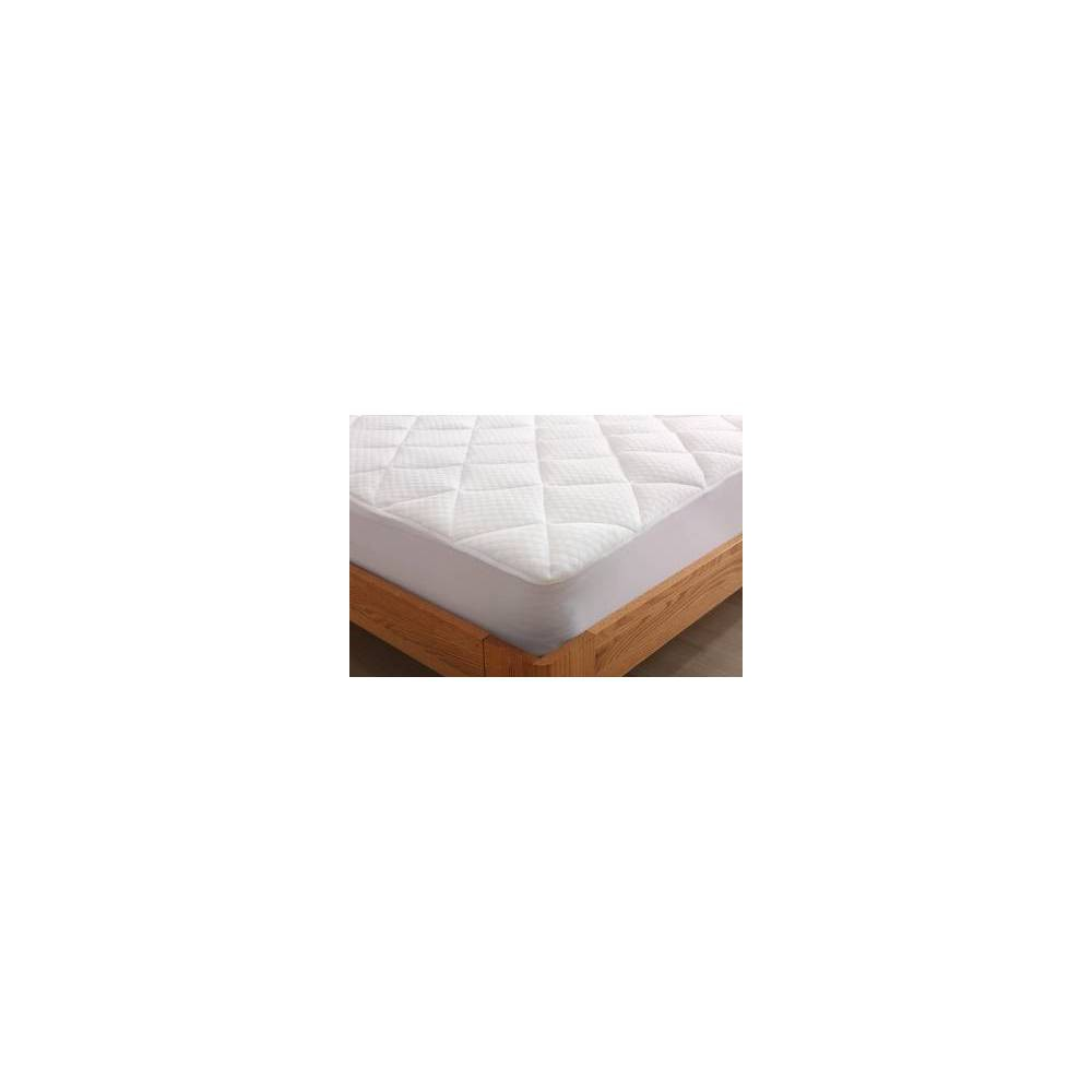 Image of King Cool Knit Mattress Pad White - St. James Home