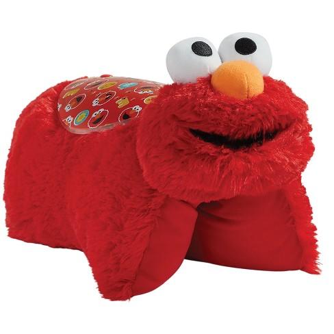Sesame Street Elmo Sleeptime Plush Night Light Red Pillow Pets