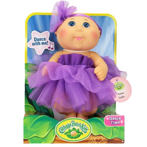 Cabbage Patch Kids Tiny Newborn Baby Doll Purple Target