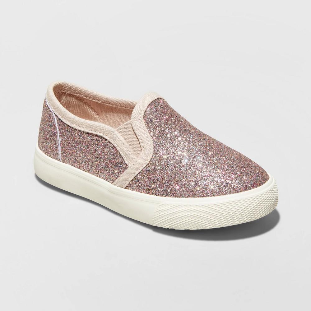 Best Discount Toddler Girls Madigan Sneakers Cat Jack Rose Gold 5