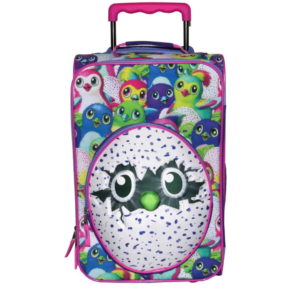 "Image of ""Spinmaster 18"""" Hatchimals Suitcase - Purple, Girl's, Pink Purple"""