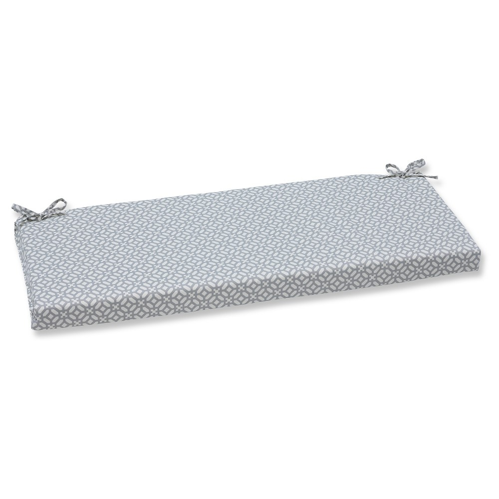 Pillow Perfect Outdoor Seat Cushion Gray