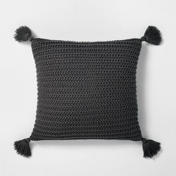 Chunky Knit Throw Pillow - Hearth & Hand™ with Magnolia