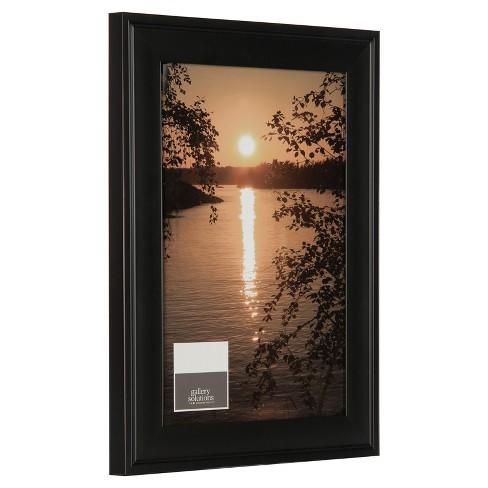 Photo Frame 12x18 Black Target