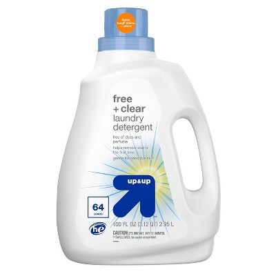 Free + Clear & Gentle Laundry Detergent - 100 fl oz - up & up™