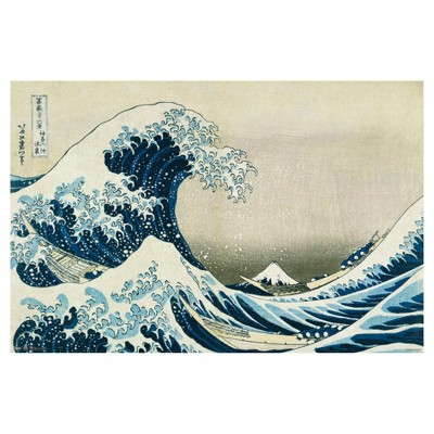 The Great Wave Poster 34x22 - Trends International