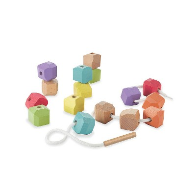 MindWare Babu Lacing Beads - Early Learning - 18 Pieces