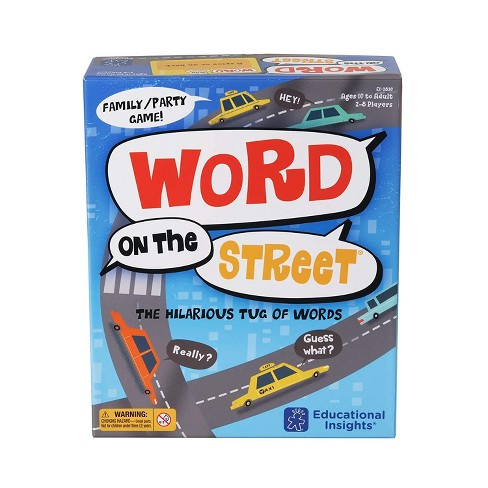 Educational Insights Word on the Street Game - image 1 of 4