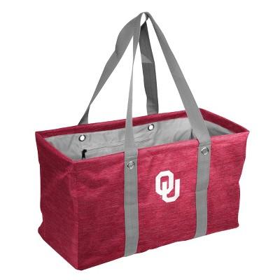 NCAA Oklahoma Sooners Crosshatch Picnic Caddy