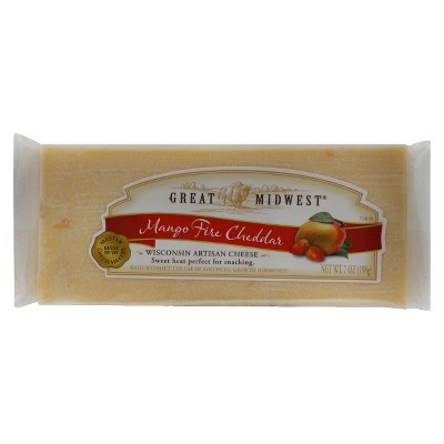 Great Midwest Mango Fire Cheddar Cheese - 7oz