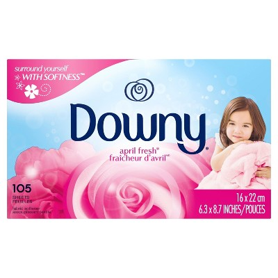Downy April Fresh Fabric Softener Dryer Sheets 105ct