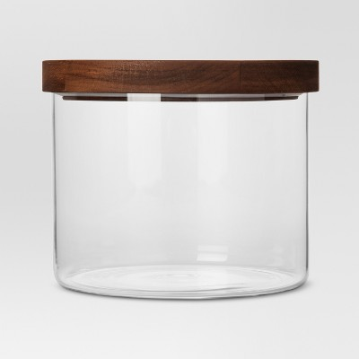 67.5oz Glass Storage Canister with Wood Lid - Threshold™