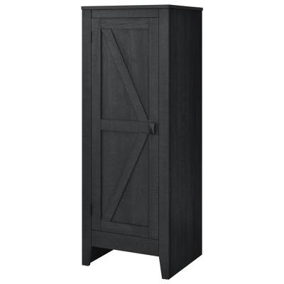Brookside Storage Cabinet Black - Room & Joy
