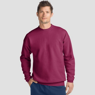 Hanes Men's EcoSmart Fleece Crew Neck Sweatshirt
